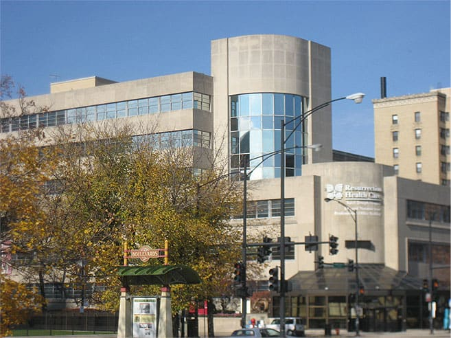 Resurection Health Care, Stone Medical Center, Chicago, IL - RS-20 reduces heat and glare
